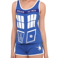 Doctor Who TARDIS Sleep Set | Hot Topic