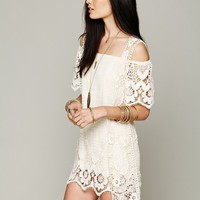 Free People Crochet Vest
