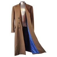 Doctor Who Tenth Doctor's Coat Replica - Abbyshot Clothiers - Doctor Who - Jackets at Entertainment Earth