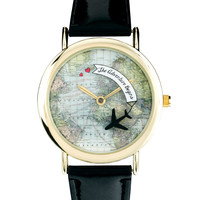 Rotating Globe Adventure Watch