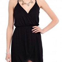 Wrap Racerback Cami Dress