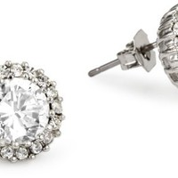 Nina Bridal Marcella Cubic Zirconia Stud Earrings