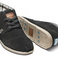 Black Suede Men's Ridge Botas | TOMS.com