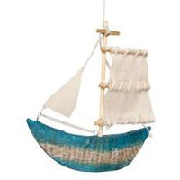 PAPER SHIP ORNAMENT | ORNAMENTS | HOLIDAY | Jayson Home & Garden