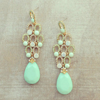 Pree Brulee - Barclay Fairy Mint Earrings
