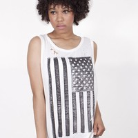 American Flag Muscle Tee | 4th Of July Clothing | MessesOfDresses.com