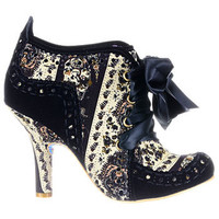 Well-Heeled Lady Victorian Booties