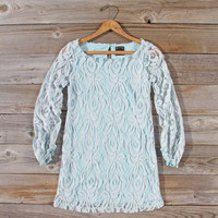 Ocean Kiss Lace Dress, Sweet Women's Party Dresses