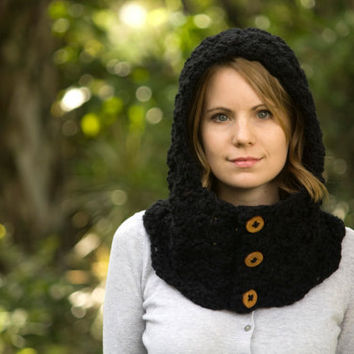 CROCHET HOODED NECK WARMERS – Only New Crochet Patterns