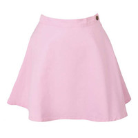 Pink Mini Skirt at Fashion Union