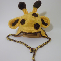 Giraffe Hat by LittleMommaBoutique on Etsy