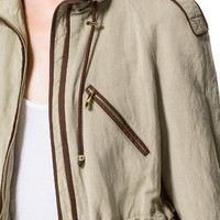 FLOWING SAFARI JACKET WITH PIPING - Woman - New this week | ZARA United States
