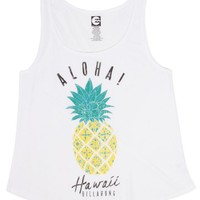 Billabong Pineapple Tank - Cool Wip - J421WPIH				 |  			Billabong 					US