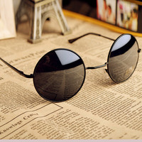 Haveall — Thin Bar Round Sunglasses