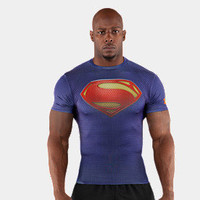 Men's Under Armour Alter Ego Man of Steel Compression Shirt *Ships 7/1 | 1246520 | Under Armour US