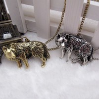 Game of Thrones Themed Direwolf Necklace | LilyFair Jewelry