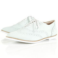MADDIE Mint EVA Sole Brogues - Flats - Shoes - Topshop USA