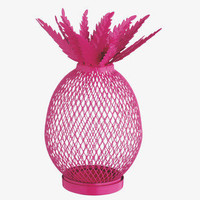 PINEAPPLE PINK CERISE Metal Tea light holder - 0-			HabitatUK