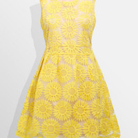 Sunflower Fields Forever Dress