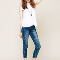 Free People Iggy Crop Skinny Jeans