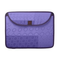 Something Purple - Bold Purple Abstract MacBook Pro Sleeve from Zazzle.com