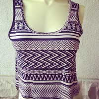 Aztec V Top  from Belle La Vie Boutique