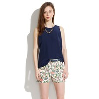 Tailored Shorts in Garden Vine - shorts - Women's PANTS & SHORTS - Madewell