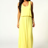 Alice Racer Back Maxi Dress