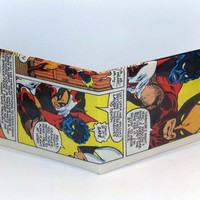 Comic Book Wallet// Wolverine and Nightcrawler
