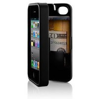 EYN (Everything You Need) Smartphone Case for iPhone 4/4s - Black (eynblack)