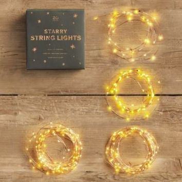 Starry String Lights | Light Strings | Restoration Hardware