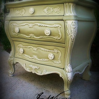 Stunning French Bed Side Chest