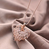 Love Foliage Necklace
