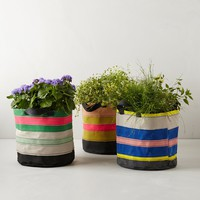 Canvas Tote Pot