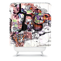 DENY Designs Home Accessories | Randi Antonsen Birds 6 Shower Curtain