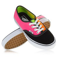 Vans Shoes Authentic USA SIZE Tri Tone Neon Skate Board Surf Bmx Fmx Punk Style on eBay!