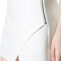 CROSSOVER JACQUARD SKIRT WITH SIDE ZIP - Skirts - TRF | ZARA United Kingdom