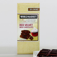 World Market Red Velvet Milk Chocolate Bar, Set of 2 | World Market