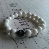 Kiki-Jabri Jewels Men's Collection Bracelets: Howlite Skull Bracelet