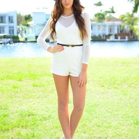 Beneath Moonlight Playsuit