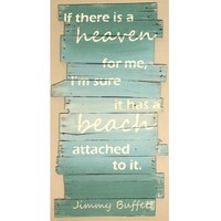 Art Sea Beach | Prints, Signs, Quotes, Sayings, Accessories: Jimmy Buffett Beach Quote Sign
