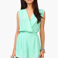 Chic Chick Romper - Mint