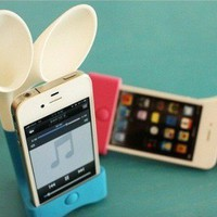 INFMETRY:: Rabbit Ears Speaker for iPhone 4S - Phone Accessories - Electronics