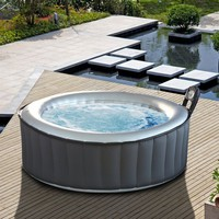 M Spa Silver Cloud Hot Tub