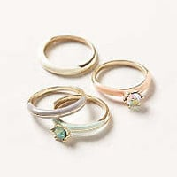 Anthropologie - Radiance Stacking Rings
