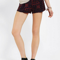 Ecote Soft Woven Printed Short- Blue