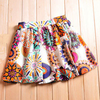 brilliant — Fresh floral girl skirt tutu