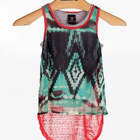 Girls-W Girl 2-Fer Tank Top - Girl's Shirts/Tops | Buckle