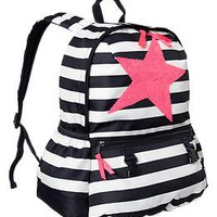 Junior sequin striped backpack | Gap