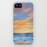 Sunset Reflections iPhone & iPod Case by Rosie Brown